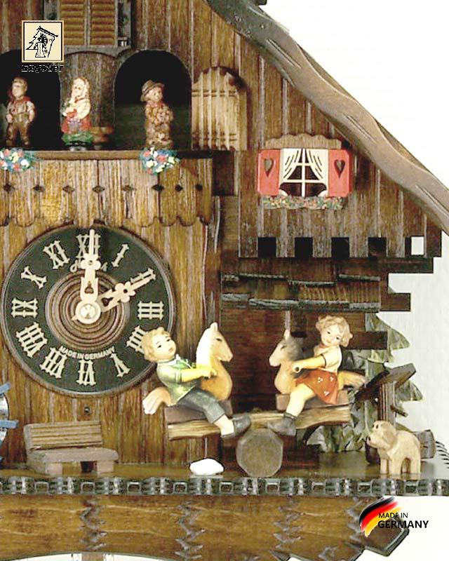 Часы настенные с кукушкой Engstler-4746qmt.. Страна: Германия (Шварцвальд) купить на triberg.ru