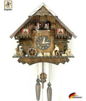 Часы настенные с кукушкой Engstler-474qmt Страна: Германия (Шварцвальд) купить на triberg.ru