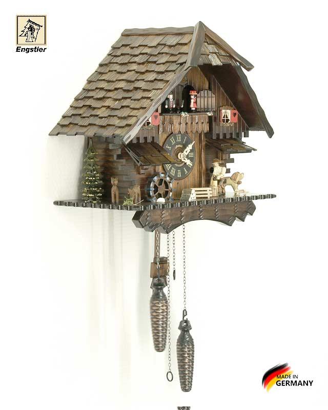 Часы настенные с кукушкой Engstler-474qmt. Страна: Германия (Шварцвальд) купить на triberg.ru
