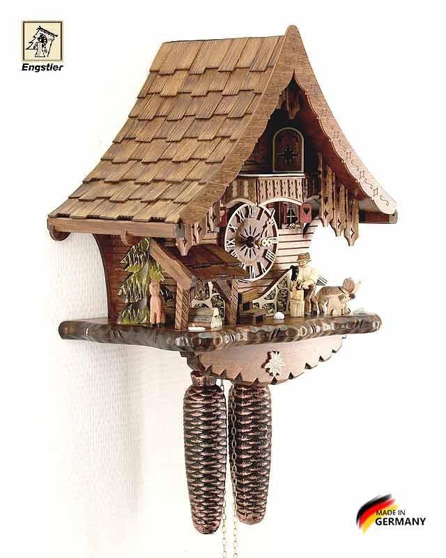 Часы с кукушкой механические Engstler-4791-8. Страна: Германия (Шварцвальд) купить на triberg.ru