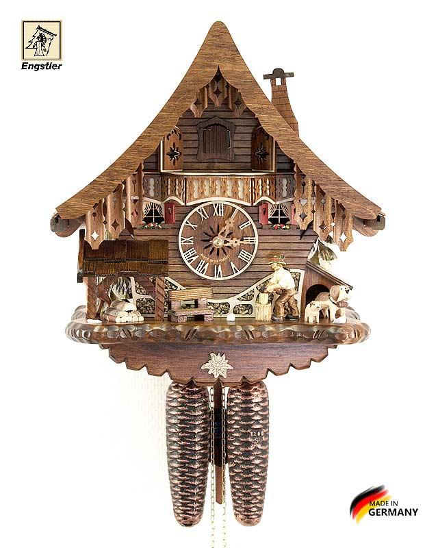 Часы с кукушкой механические Engstler-4791-8 Страна: Германия (Шварцвальд) купить на triberg.ru