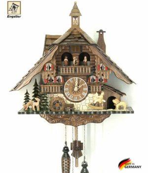 Часы настенные с кукушкой Engstler-4815qmt Страна: Германия (Шварцвальд) купить на triberg.ru