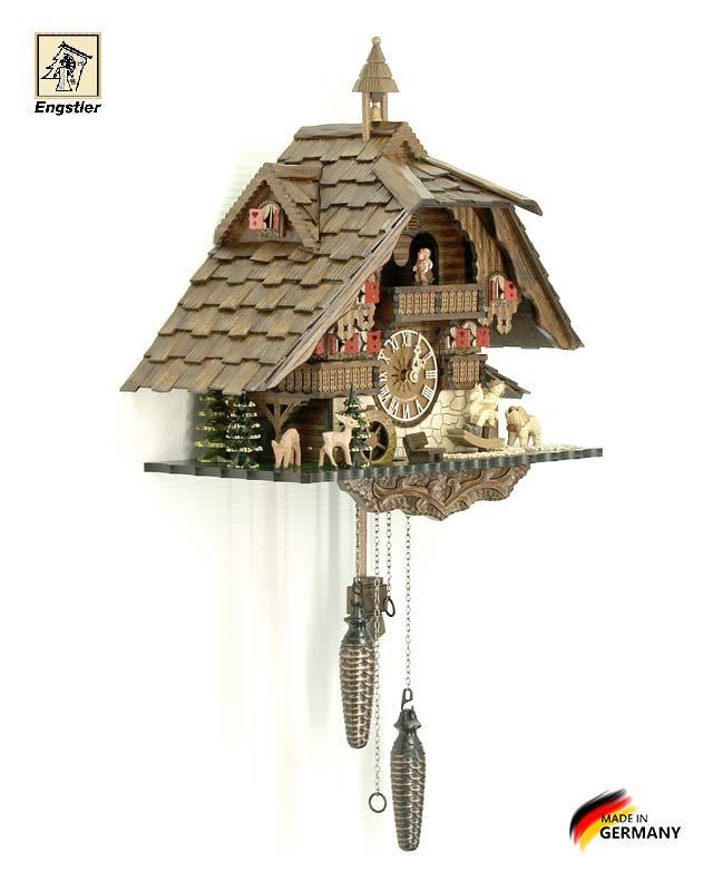 Часы настенные с кукушкой Engstler-4815qmt. Страна: Германия (Шварцвальд) купить на triberg.ru