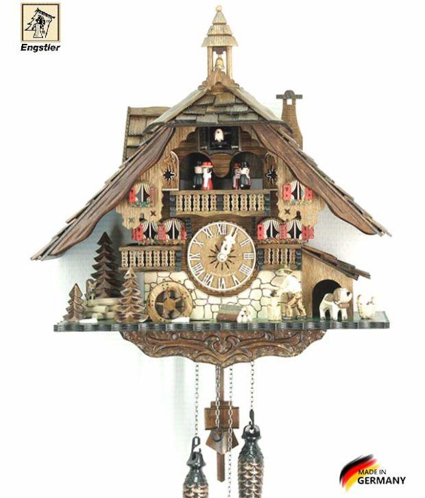 Часы настенные с кукушкой Engstler-481qmt Страна: Германия (Шварцвальд) купить на triberg.ru