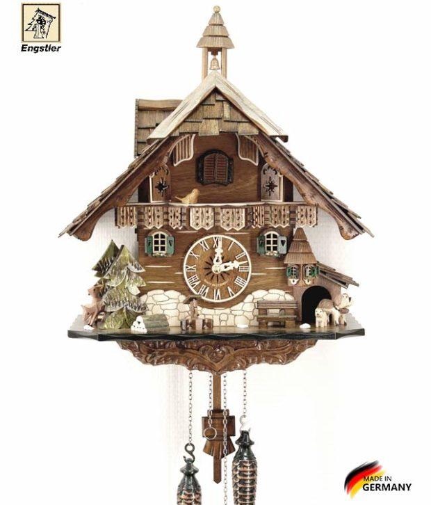 Часы с кукушкой Engstler-483q Страна: Германия (Шварцвальд) купить на triberg.ru