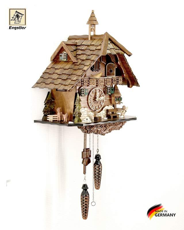 Часы с кукушкой Engstler-483q. Страна: Германия (Шварцвальд) купить на triberg.ru