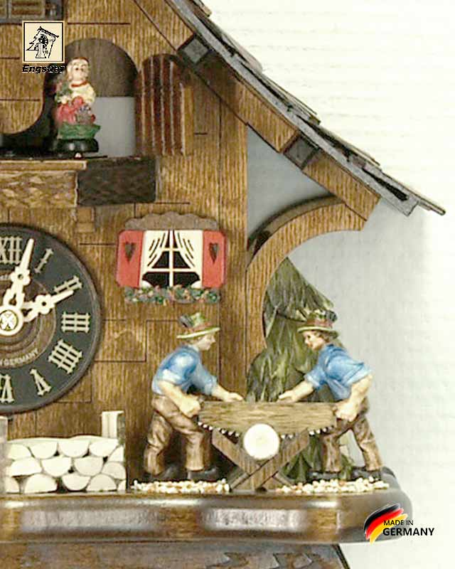 Часы настенные с кукушкой Engstler-4927qmt.. Страна: Германия (Шварцвальд) купить на triberg.ru
