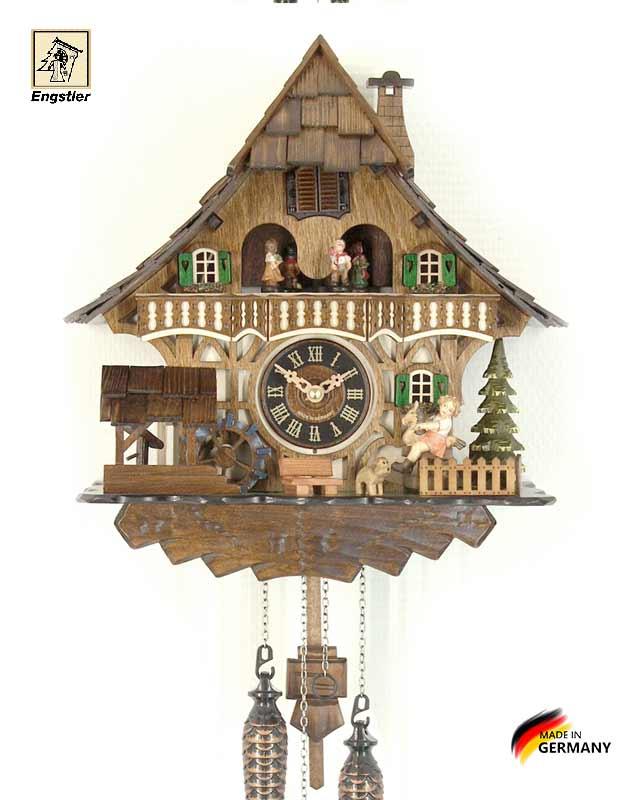Часы настенные с кукушкой Engstler-4965qmt Страна: Германия (Шварцвальд) купить на triberg.ru