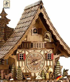 Часы настенные с кукушкой механические Engstler-4991-8.. Страна: Германия (Шварцвальд) купить на triberg.ru