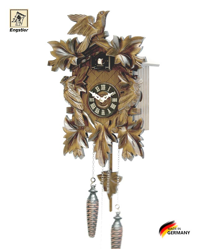 Часы с кукушкой Engstler-632q. Страна: Германия (Шварцвальд) купить на triberg.ru