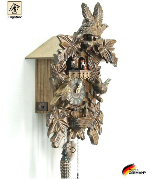 Часы с кукушкой Engstler-640qmt. Страна: Германия (Шварцвальд) купить на triberg.ru
