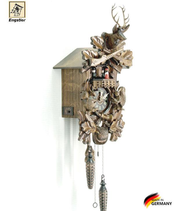 Часы настенные с кукушкой Engstler-734qmt. Страна: Германия (Шварцвальд) купить на triberg.ru