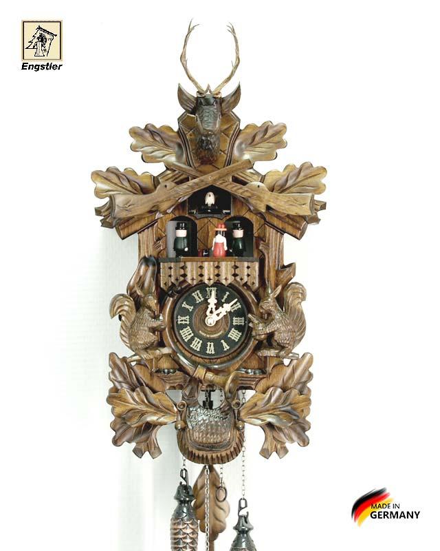 Часы настенные с кукушкой Engstler-734qmt Страна: Германия (Шварцвальд) купить на triberg.ru