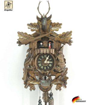 Часы настенные с кукушкой Engstler-739qmt Страна: Германия (Шварцвальд) купить на triberg.ru