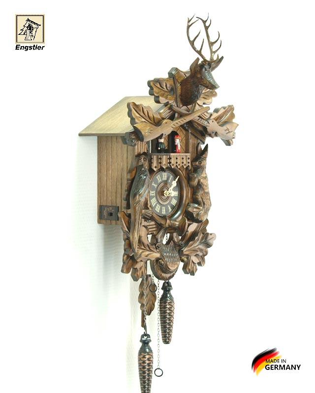 Часы настенные с кукушкой Engstler-739qmt. Страна: Германия (Шварцвальд) купить на triberg.ru